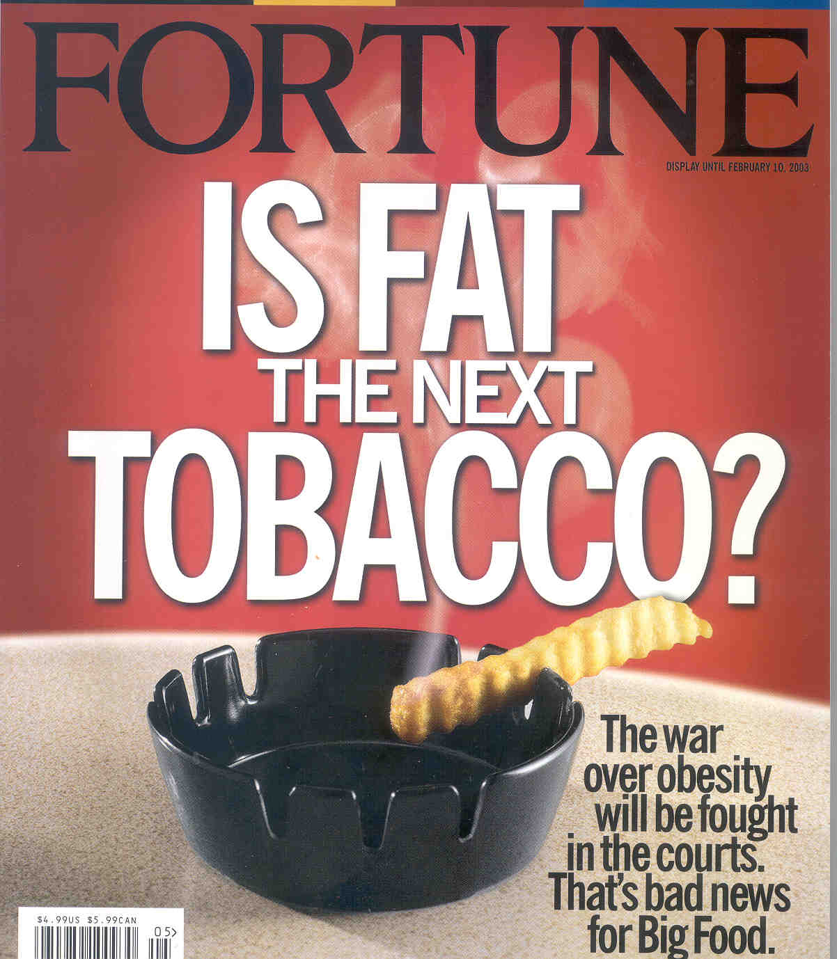 is fast food the new tobacco